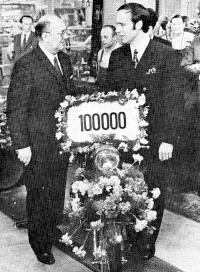 De Mijlpalen, De 10.000ste, de 100.000ste en de 1.000.000ste Kreidlers