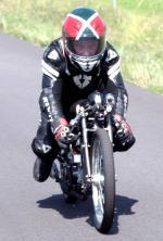 Sprintrecord 50cc succesvol verbroken door Aalt Toersen, 2019