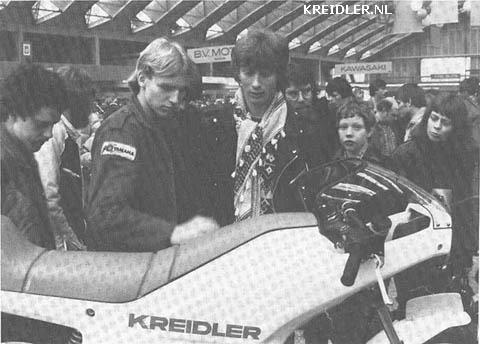 Precies in de smaak van de jeugd, echter geen kans meer. Kreidler stond op de RAI te Amsterdam.