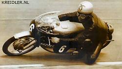 Yoshimi Katayama; de Suzukirijder met de vloeiende rijstijl die door Henk van Kessel bewonderd werd. Henk leende later zelfs het symbooltje dat Katayama op zijn helm droeg.