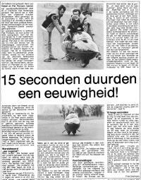 Wereldsnelheidsrecordhouder Henk van Kessel, 15 seconden duurden een eeuwigheid, 1977