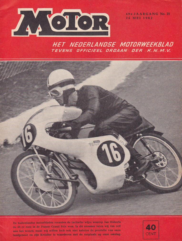 Jan Huberts vertelt over zijn Franse GP overwinning (1962)