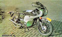 De prachtige Kreidler Florett Elektronik uit 1977.