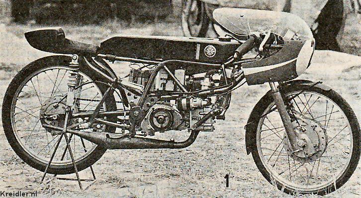 Watergekoelde Van Veen Racer 1969