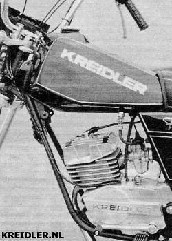 Bekende onderdelen: Mustang tank en Florett motor.