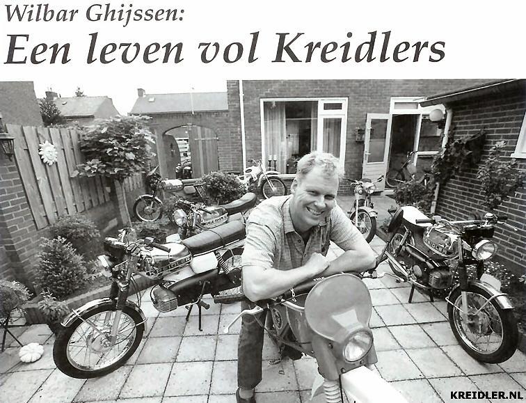 Wilbar Ghijssen: Een leven vol Kreidlers