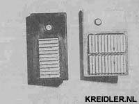 De elektronische ontstekingen, een grote en compacte unit.