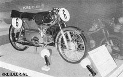 De Kreidler-Florett RS met race-set werd voor het eerst getoond op de tentoonstelling 'Motor-Reise-Freizeit' in Stuttgart. Hij behoorde daar tot de trekpleisters.