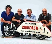 Containervondst, Van Veen Kreidler Sprinter uit 1968 in 2011