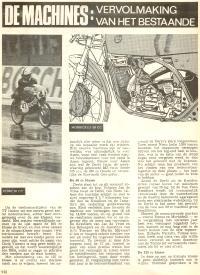 De Machines, Vervolmaking Van Het Bestaande, TT 1970