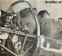 Rudolf Kunz in de recordmachine