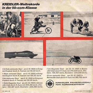 Mermigis' Kreidler vinyl record