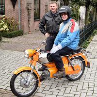 Gijs - Kreidlerclublid januari 2009 - Verkoop oranje RS aan Marcel (de wilde 13).
