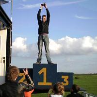 Ferry - Kreidlerclublid januari 2010 - Eerste plaats op de sprint in Genemuiden 2009 op de Kreidler van Marcel O.