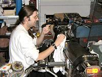 Arnoud (Haakie) - Kreidlerclublid maart 2008 - Poetst de Kreidler