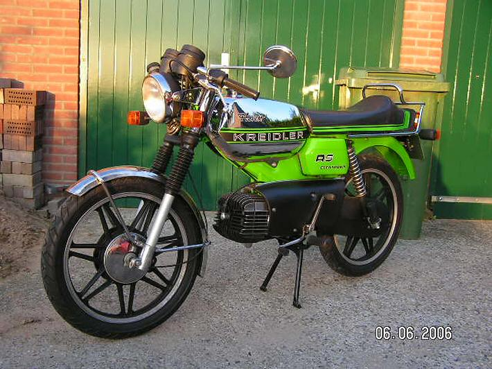 De groene RS-GS van Ries is helemaal origineel