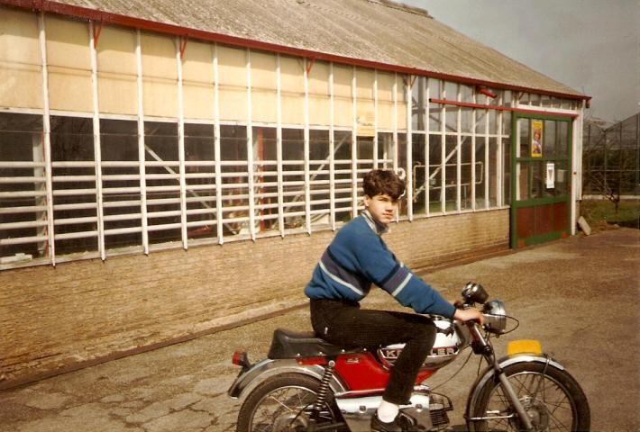 Huib - Kreidlerclublid mei 2009 - Toen hij 16 was al gek van Kreidler
