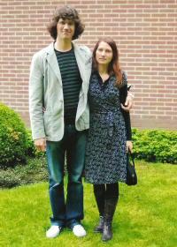 Huib en zijn vrouw Magda