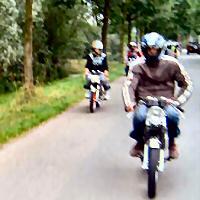 André - Kreidlerclublid juni 2008 - Tijdens de rit.