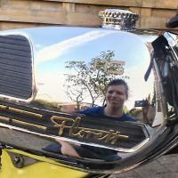Niels (kreidler-holland) - Kreidlerclublid juli 2009 - De tank is een goede spiegel