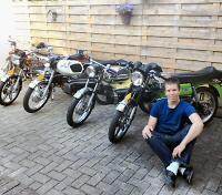 Niels (kreidler-holland) - Kreidlerclublid juli 2009 - Bij het 'Kreidler Museum'.