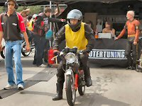 Peter de Beus - Kreidlerclublid augustus 2008 - Met het 18 pk monster op de sprint in Zoetermeer in 2008.