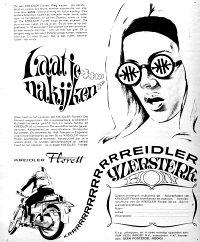 Kreidler advertenties in kranten en tijdschriften