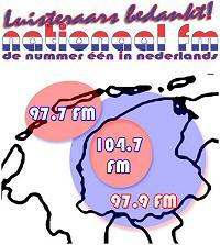 Actie voor Willem Kapteyn op de radio zender Nationaal-FM