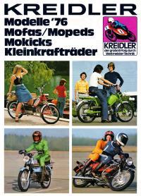 Kreidler Folder Duitsland 1976