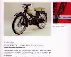 Brochure for the Kreidler Florett, 1966