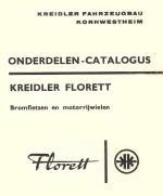 Kreidler Onderdeelboek 1963 Nederlands